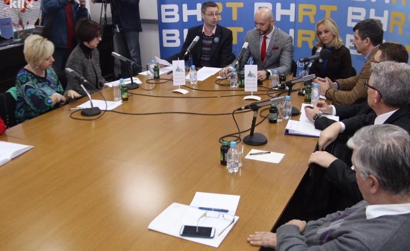 """Okrugli stol """"Perspektive, održivost, i funkcioniranje javnih servisa u BiH"""""""