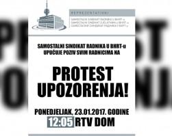 PROTEST UPOZORENJA