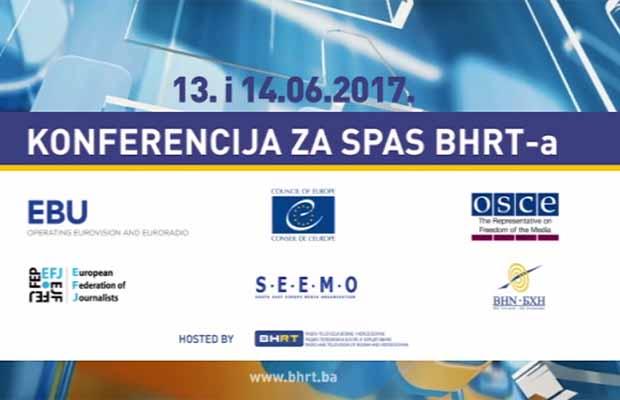 U zgradi BHRT-a održana konferencija Nacionalni javni radiotelevizijski servis Bosne i Hercegovine