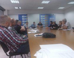 Konstituirajuća sjednica Upravnog odbora SSR u BHRT-u